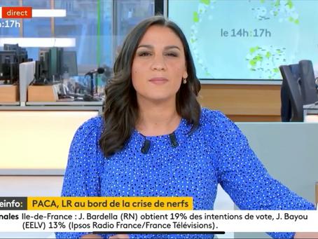 Découvrez mon passage sur France Info au sujet de la situation région PACA