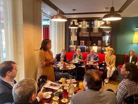 Café de la Députée jeudi 1er juillet