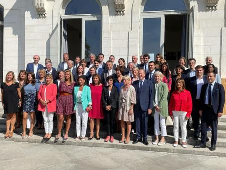 Séminaire de rentrée avec mes collègues du groupe Changer Paris au Conseil de Paris
