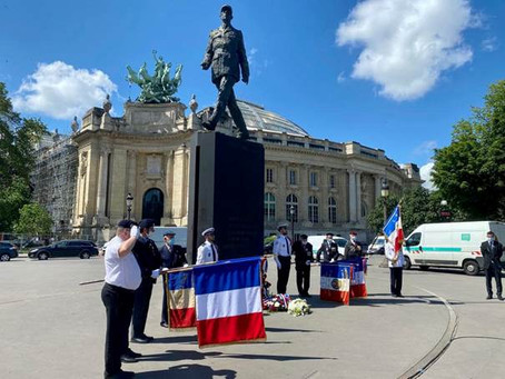 Hommage au Général de Gaulle et à l'Appel du 18 juin
