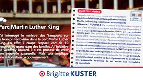Question sur la Petite Ceinture dans le Parc Martin Luther King