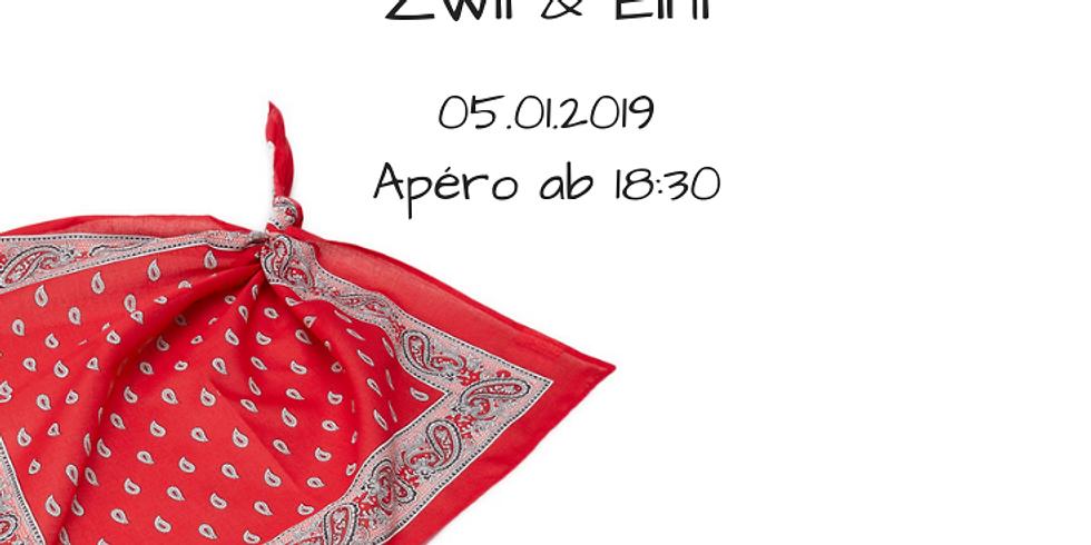 Samstag Musikabend mit Trio Zwii und Eini