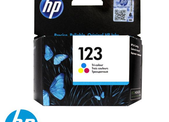 דיו HP 123 צבעוני