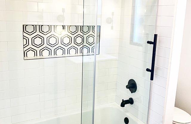 Recent bathroom renovation