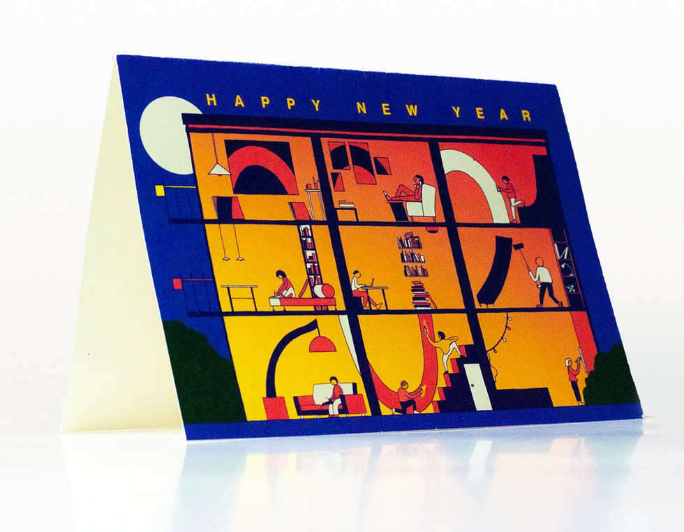 WACOM NEW YEARS CARD 2021