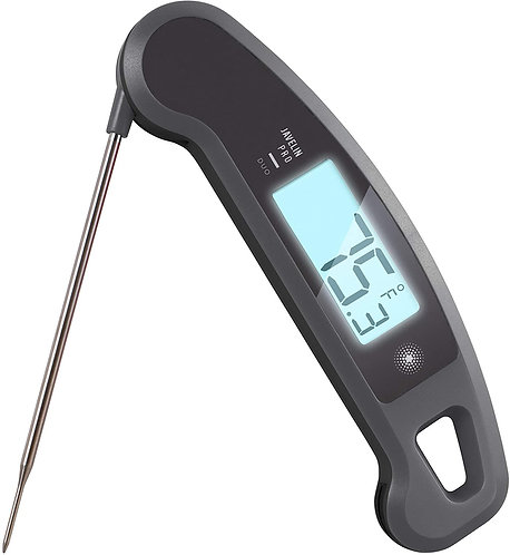 1/2 Ton - Lavatool Pro Duo Ambidextrous Digital Meat Thermometer
