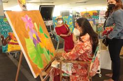 live Painting Liliana Martinez