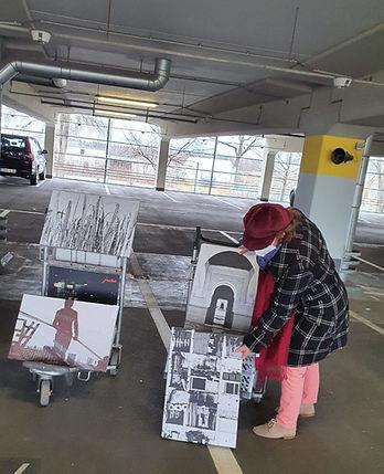 Elisabeth Mouzaoui a Airport NUE