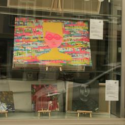 Galerie Mouzaoui Schaufenster
