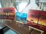 Landschaften in Acryl