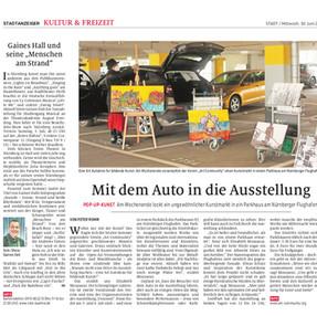 nürnberger NAchrichten, Ausstellung Art Community Drive in.jpg