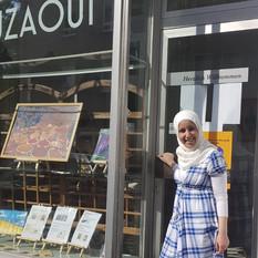 Tahani Munawar in der Galerie Mouzaoui