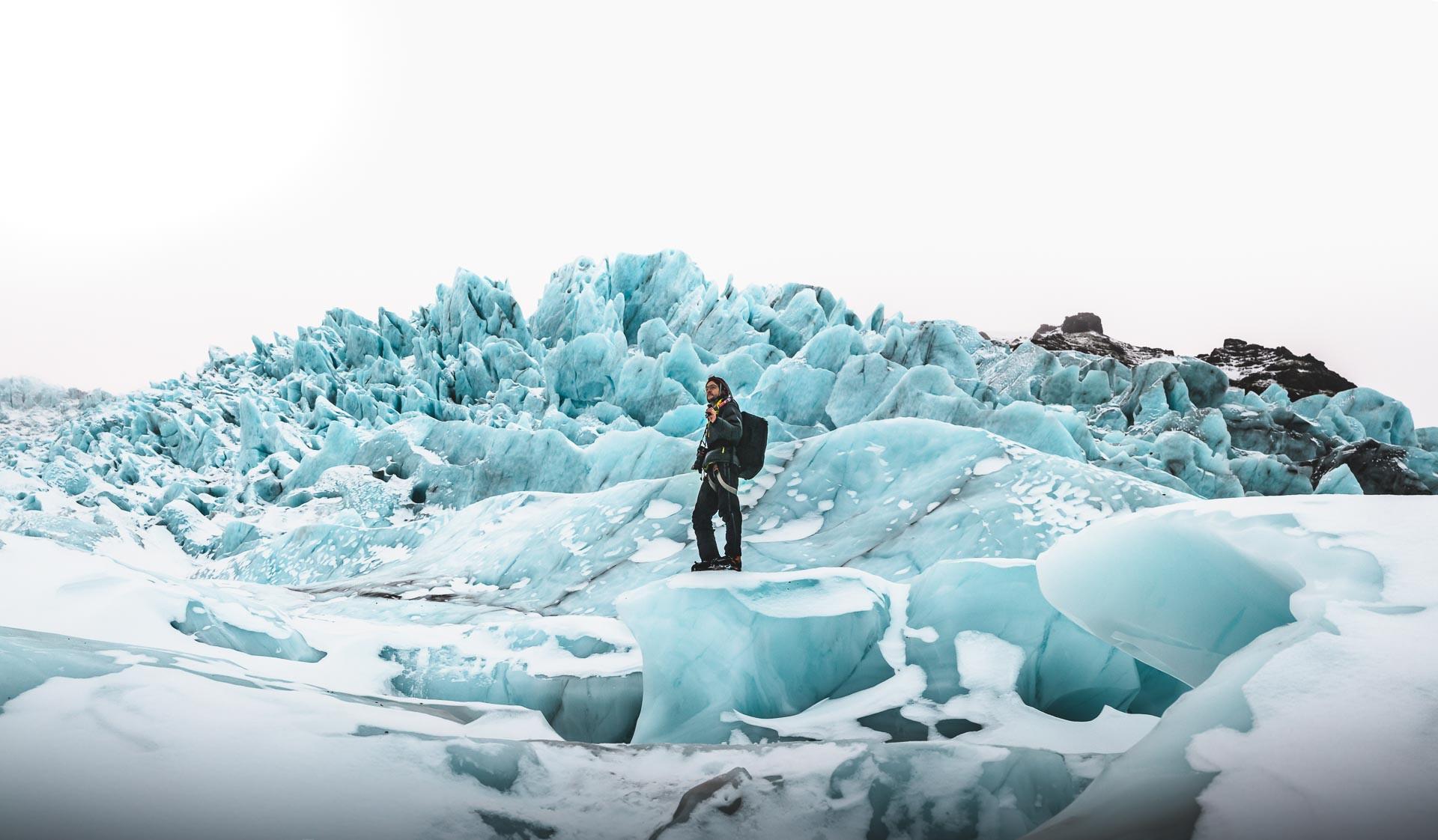 glacier panorama Norris Niman Iceland Norbert von Niman