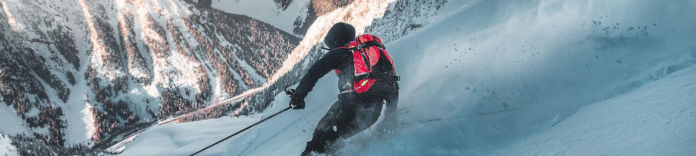 Norris Niman outdoor photos for Fischer Ski
