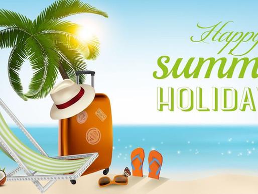 Verlofregeling - Prettige vakantie !