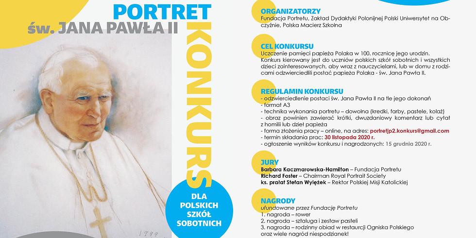 KONKURS - Plakat o św. Janie Pawle II