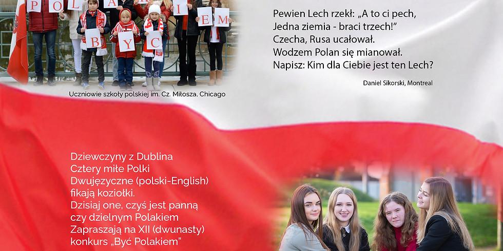 """KONKURS - """"Być Polakiem"""""""