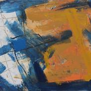 Haiku #4-blue-gold-white