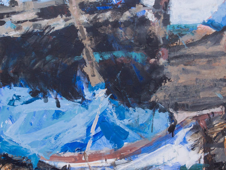 Percuil River - Black Boat #1