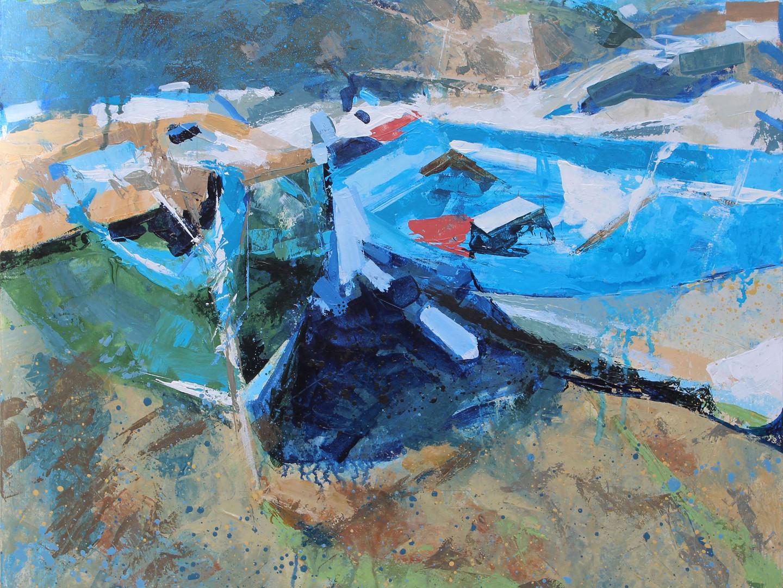 The Porth, Portscatho, (Sea Horse)