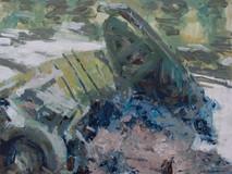 Polingey Creek - Boat wreck.