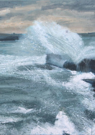 Storm in the Porth
