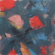 Haiku #2-red and grey