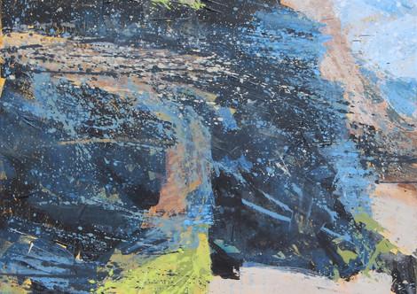 Black rocks, Carne beach #1.