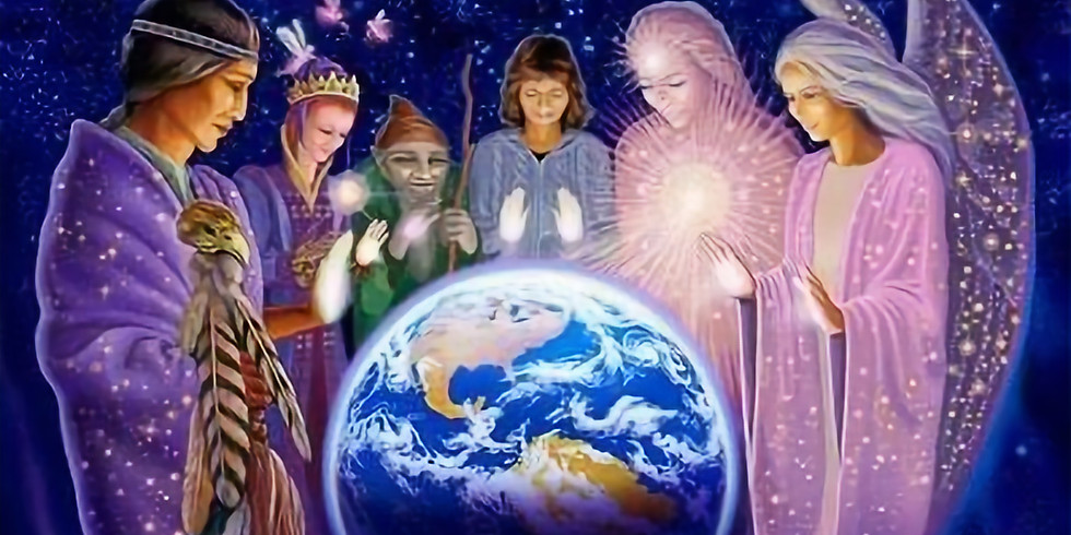 Blue Flame Collective Energy Clearing and Group Activation