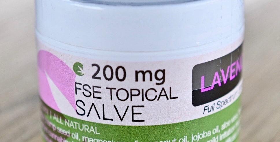 Wholesale Topical Salve - 2oz - Lavender 200mg