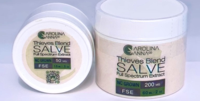 Wholesale Topical Salve - 2oz - Thieves 200mg