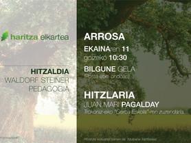 HITZALDIA / CONFERENCE