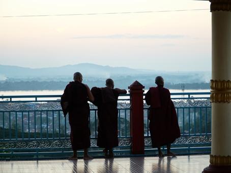 Myanmar Günleri - Mawlamyine - Kyaikthanlan Pagoda