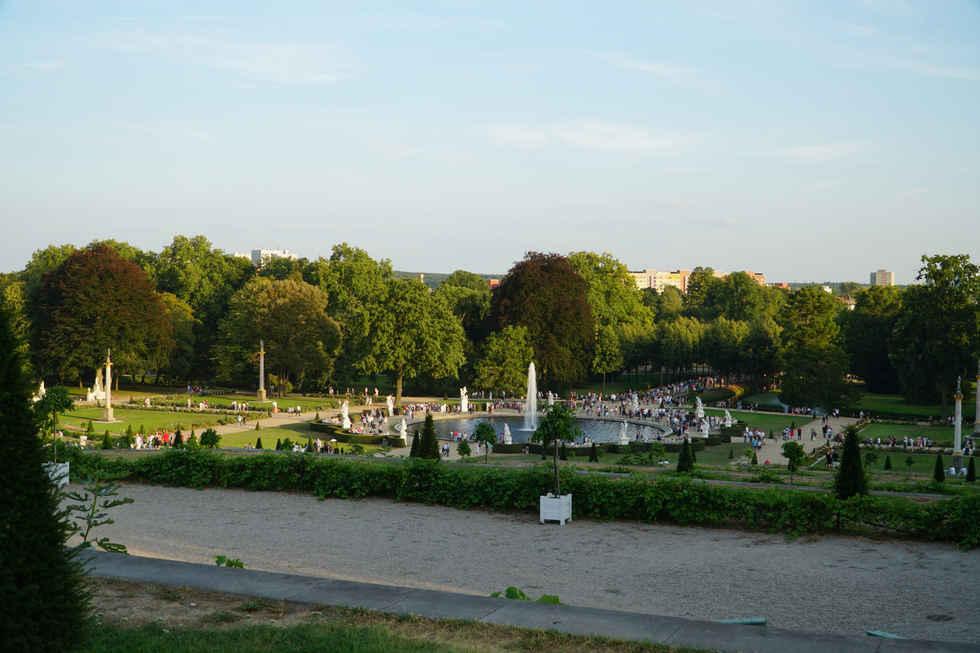 Sanssoucci Palace gardens