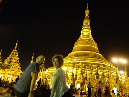 Myanmar Günleri - Yangon - Shwedagon Pagoda