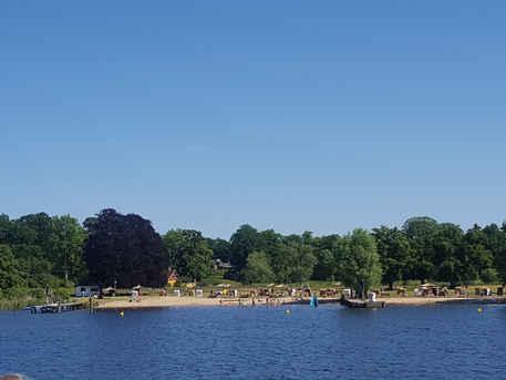 One of the beaches around Potsdam