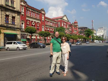 Myanmar Günleri - Yangon - Koloniyal dönemden kalanlar