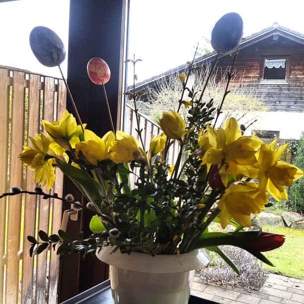 Easter, flowers
