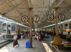 Myanmar Günleri - Yangon - Circle Line