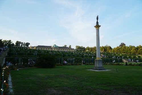 Sanssoucci Palace and gardens