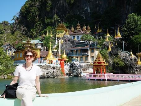 Myanmar Günleri - Hpa An - Bayin Nyi Mağarası