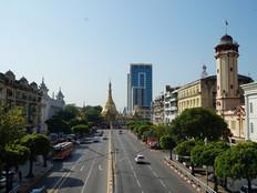 Myanmar Günleri - Yangon - Sule Pagoda