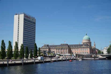 Potsdam harbour