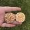 Thumbnail: 605 - Glitter Resin Statement Hoops