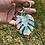 Thumbnail: 349 - Monstera Keychain