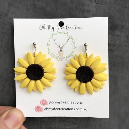 383 - Heck Yeah - Sunflowers Large