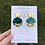 Thumbnail: 446 - Festive Green and Gold Dangles