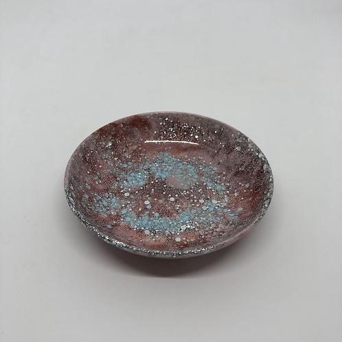 505 - 9cm Round Resin Trinket Dish