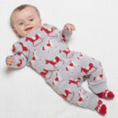 Kite Rocking Horse Romper