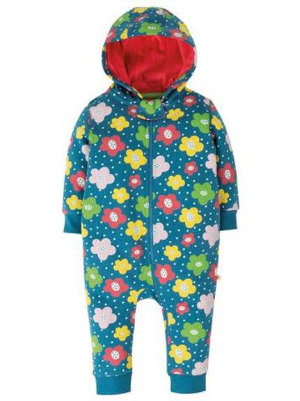 Frugi Snuggle Suit Floral Spot